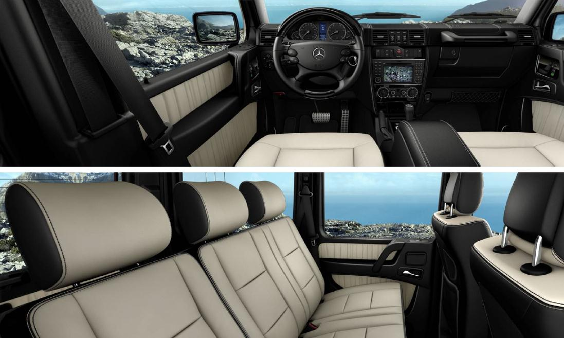 Benzblogger Blog Archiv 2012 Mercedes Benz G550 Options And Colors