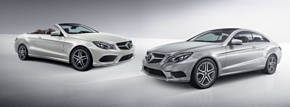 Redesigned E-Class coupe and cabriolet