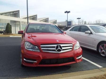 mercedes C-class pre-owned