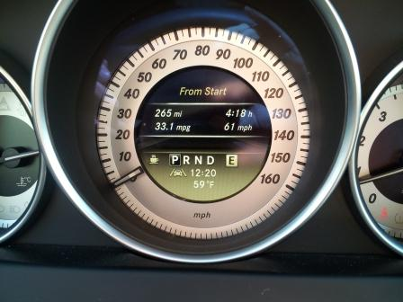 2012 Mercedes gas mileage