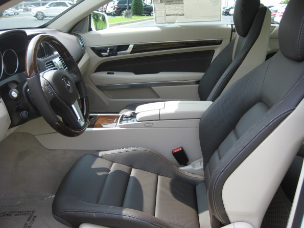 E-Class Brown leather