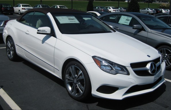 E350 convertible brown