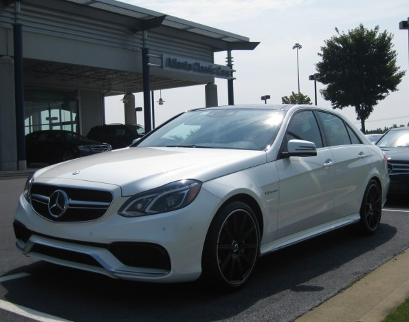 Mercedes E63 at Atlanta Classic Cars