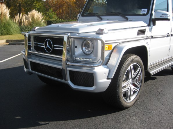 G63 front end
