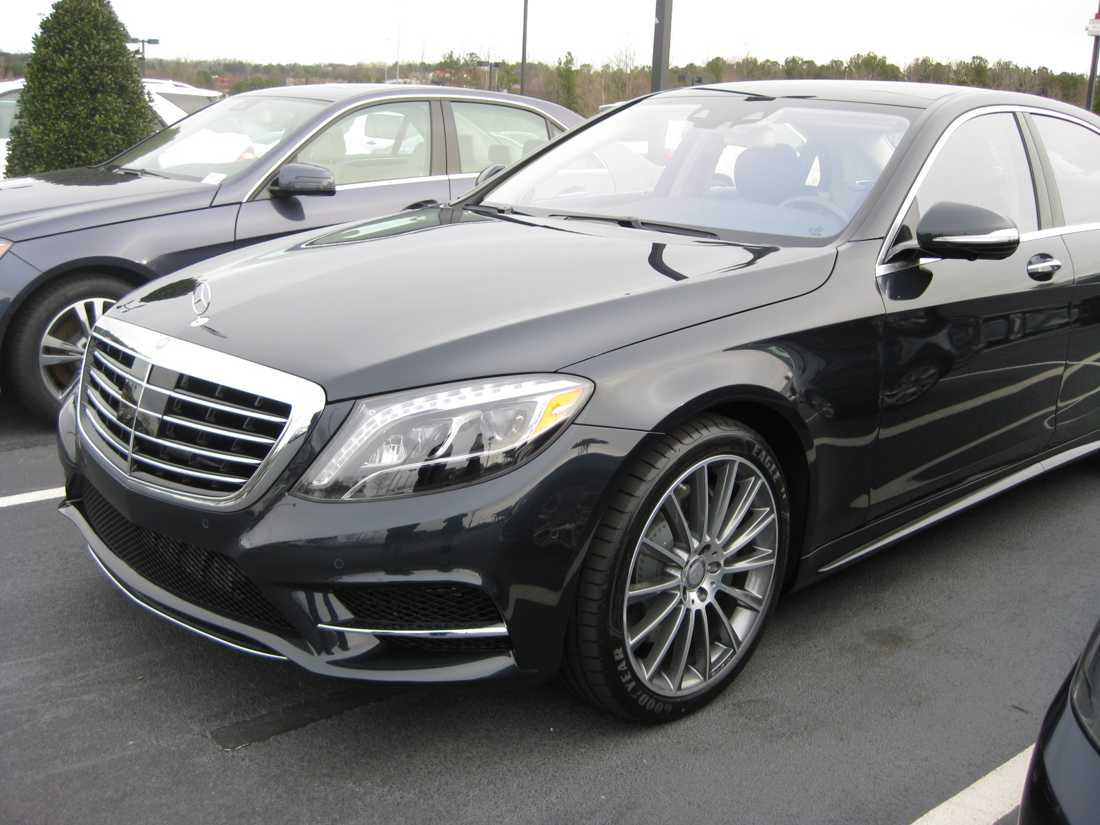 Benzblogger Blog Archiv New Color Anthracite Blue Code 998 On 2014 Mercedes Benz S550