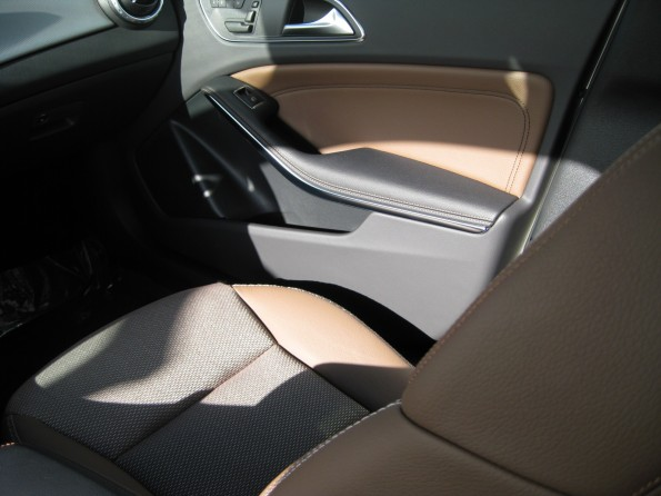 GLA brown leather
