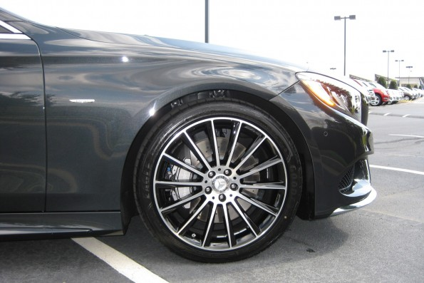 20 inch wheels S550 coupe