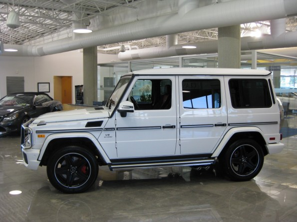 G63 with Black wheels