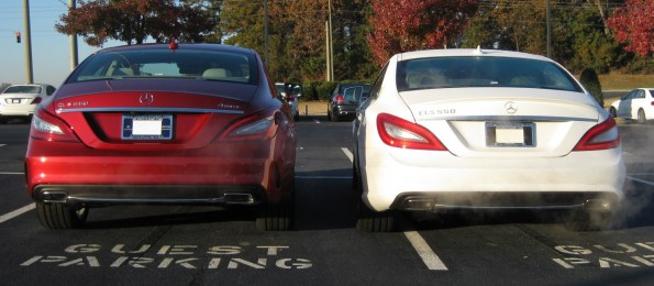 CLS tail lights