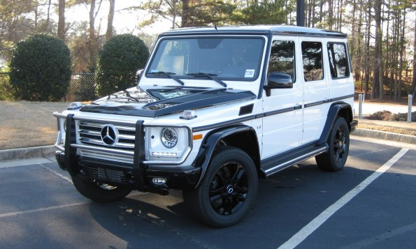 Mercedes two tone G