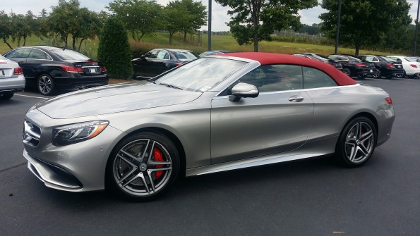 S63 AMG Cabriolet Alubeam Red top