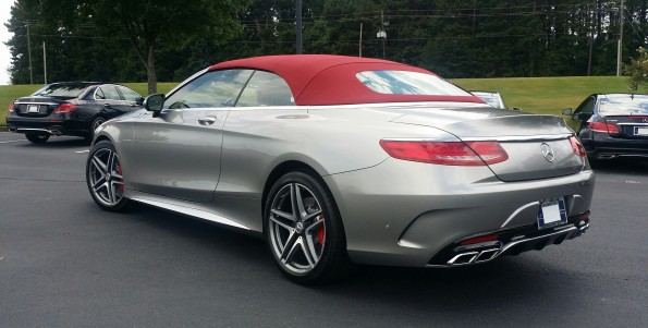 S63 AMG Edition 130 Red top
