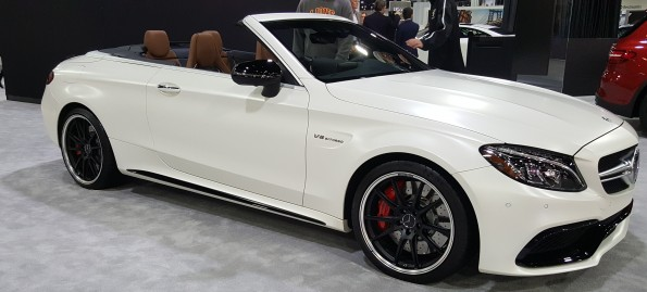 Mercedes C63 Cabriolet Launch