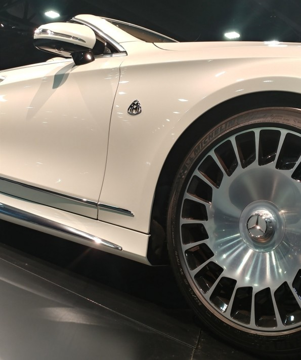 Maybach S650 cabriolet wheels