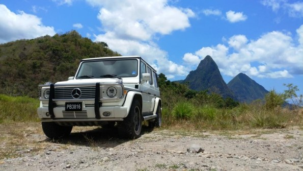 St Lucia G55 Pitons 2