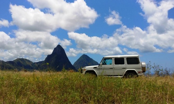 St Lucia G55 Pitons