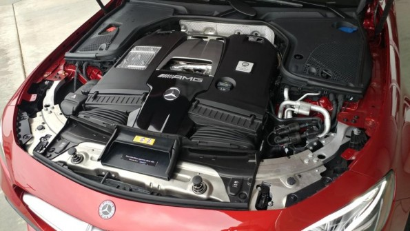Mercedes-AMG E63 engine